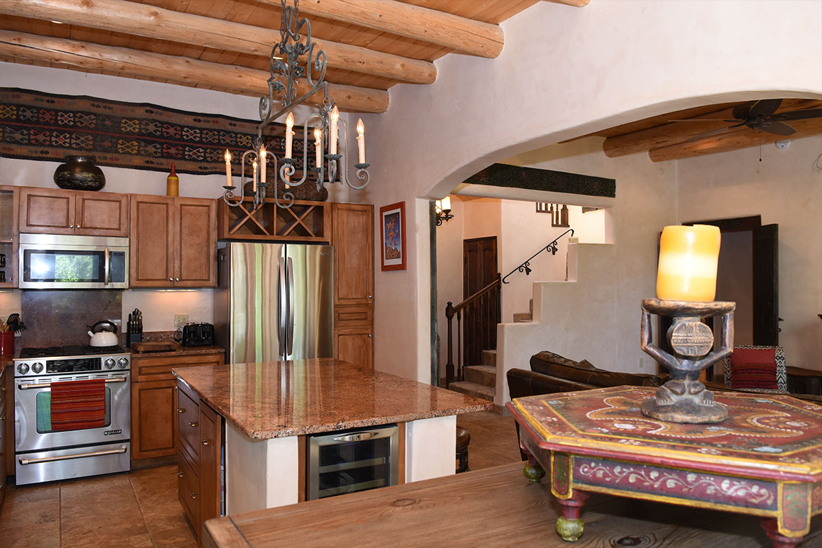 Taos Villas-NM9-from-dining-toward-kitchen-and-living-room