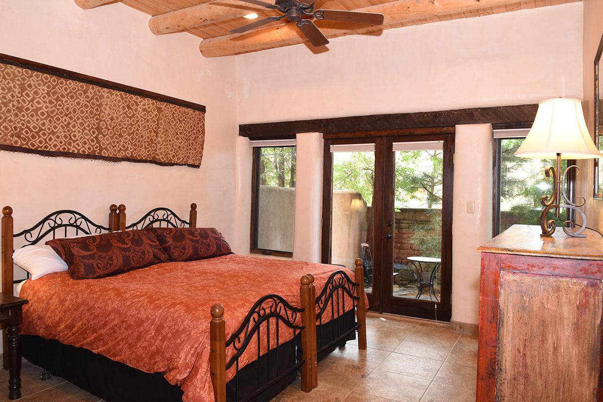 Taos Villas-NM9-third-bedroom-toward-private-patio