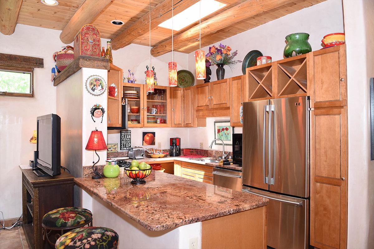 Taos Villas-NM2-Kitchen-over-kitchen-bar