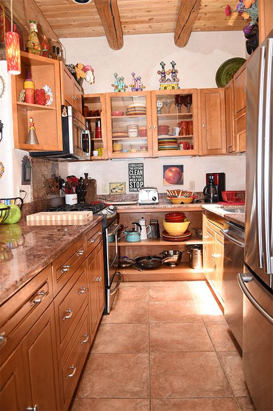 Taos Villas-NM2-kitchen