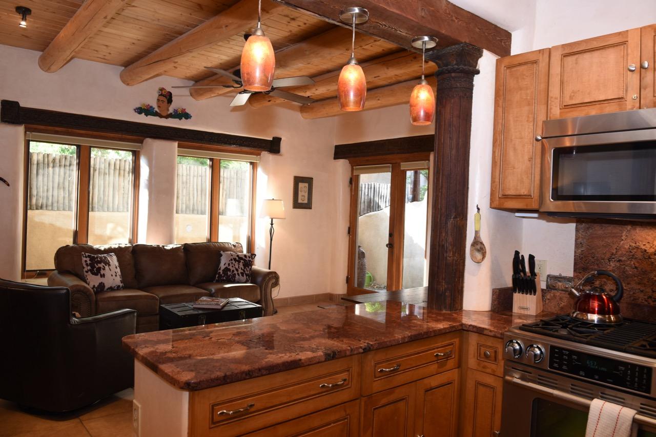 Taos Villas Unit 6 Living Area